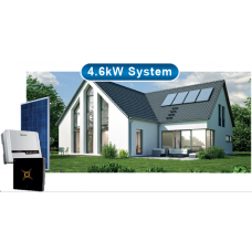 4.6kW Inverter + Small Lithium Battery Backup (Installed)